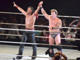 『WWE Live Japan』に出場した中邑真輔とクリス・ジェリコ (C)ORICON NewS inc.