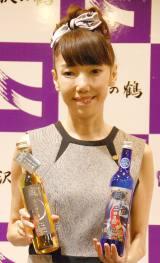 自身がプロデュースした日本酒『三ニ四の酒』発売記者会見に出席した太田光代 (C)ORICON NewS inc.
