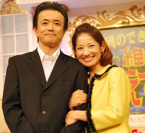 サムネイル 第二子妊娠を発表した大渕愛子弁護士(右)と夫の金山一彦 (C)ORICON NewS inc.