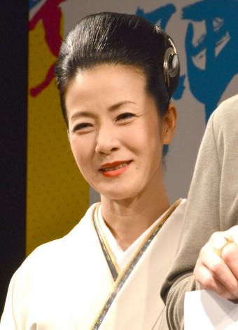 ドラマ『神の舌を持つ男』の制作発表に出席した坂本冬美 (C)ORICON NewS inc.