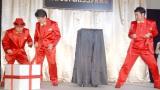 『チョコボール新おもちゃのカンヅメ』発表会に登場したダチョウ倶楽部(左から)上島竜兵、寺門ジモン、肥後克広 (C)ORICON NewS inc.