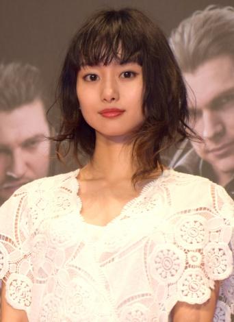 映画『KINGSGLAIVE FINAL FANTASY XV』オープニングイベントに出席した忽那汐里 (C)ORICON NewS inc.