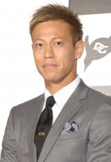 『第1回デジタルガレージ ファーストペンギンアワード』を受賞した本田圭佑 (C)ORICON NewS inc.