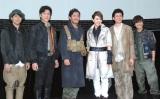 (左から)海宝直人、吉野圭吾、横田栄司、柚希礼音、渡辺大輔、平間壮一 (C)ORICON NewS inc.