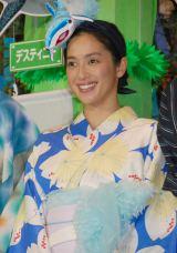 映画『ファインディング・ドリー』の七夕プレミアに出席した中村アン (C)ORICON NewS inc.