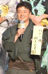 映画『ONE PIECE FILM GOLD』完成披露イベントに浴衣姿で登壇した濱田岳 (C)ORICON NewS inc.