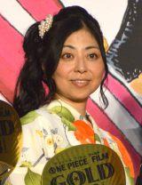 映画『ONE PIECE FILM GOLD』完成披露イベントに浴衣姿で登壇した岡村明美 (C)ORICON NewS inc.