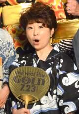 映画『ONE PIECE FILM GOLD』完成披露イベントに浴衣姿で登壇した田中真弓 (C)ORICON NewS inc.
