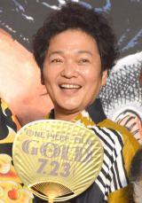 映画『ONE PIECE FILM GOLD』完成披露イベントに浴衣姿で登壇した山口勝平 (C)ORICON NewS inc.