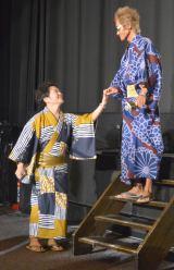 (左から)山口勝平、矢尾一樹=映画『ONE PIECE FILM GOLD』完成披露イベント (C)ORICON NewS inc.