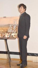 WOWOW開局25周年記念連続ドラマW『沈まぬ太陽』第2部先行試写会トークショーに出席した上川隆也 (C)ORICON NewS inc.