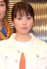 熱愛報道に初めて言及した志田未来=舞台『母と惑星について、および自転する女たちの記録』公開けいこ前の囲み取材 (C)ORICON NewS inc.