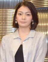 舞台『母と惑星について、および自転する女たちの記録』公開けいこ前の囲み取材に出席した田畑智子 (C)ORICON NewS inc.