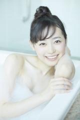 泡風呂ショットも公開