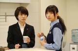 (左から)波瑠、篠田麻里子=ドラマ『ON 異常犯罪捜査官・藤堂比奈子』場面カット(C)関西テレビ