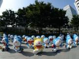 今年も「66プラザ」にドラえもんが大集合(※写真は昨年撮影されたもの)(C)藤子プロ・小学館・テレビ朝日・シンエイ・ADK