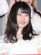 ドキュメンタリー映画第5弾『存在する理由 DOCUMENTARY of AKB48』初日舞台あいさつに登壇した横山由依 (C)ORICON NewS inc.