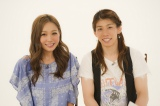 三重県出身の西野カナと吉田沙保里選手が『SONGS』で対談(C)NHK