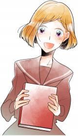 彼の声とやさしさに惹かれていくヒロイン・吉岡ゆいこ(C)どーるる/comico/「こえ恋」製作委員会