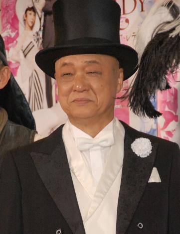 ミュージカル『マイ・フェア・レディ』初日前日の囲み取材に出席した田山涼成 (C)ORICON NewS inc.