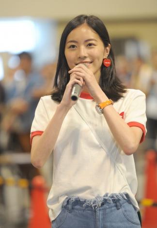 自身の主演ドラマ主題歌の選抜メンバーが決まり意気込みを語る松井珠理奈(C)AKS