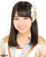 SKE48の20thシングル「金の愛、銀の愛」で初選抜入りした日高優月(C)AKS