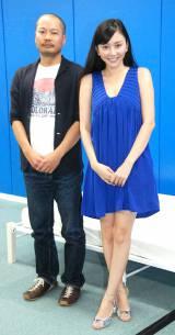 主演映画『…and LOVE』の相手役オーディションを行った(左から)松田圭太氏、杉原杏璃 (C)ORICON NewS inc.