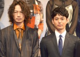 映画『怒り』の役作りで同せいしていたことを明かした(左から)綾野剛、妻夫木聡 (C)ORICON NewS inc.
