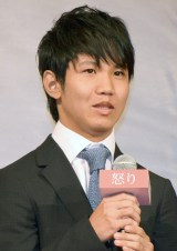 映画『怒り』完成報告会見に出席した佐久本宝 (C)ORICON NewS inc.