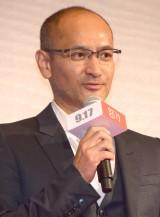 映画『怒り』完成報告会見に出席した原作者・吉田修一氏 (C)ORICON NewS inc.