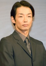 映画『怒り』完成報告会見に出席した森山未來 (C)ORICON NewS inc.