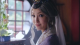 未来の夫に語りかける乙姫・菜々緒=『auの生命ほけん』新WEBムービー「未来の乙姫」篇より