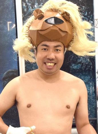 映画『ターザン:REBORN』体験イベントに出席した大西ライオン (C)ORICON NewS inc.