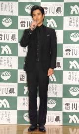 『香川県2016プロモーション』プレス発表会に出席した要潤 (C)ORICON NewS inc.