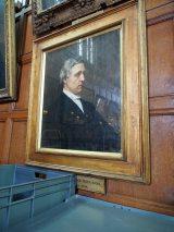 原作者ルイス・キャロルの肖像。彼が学び、その後アリスと出会ったオックスフォード大学クライストチャーチ・カレッジの学生ホールに飾ってある (C)ORICON NewS inc.