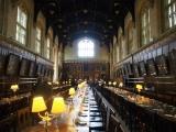 映画『ハリー・ポッター』の撮影も行われたオックスフォード大学のクライストチャーチ・カレッジの学生ホール (C)ORICON NewS inc.