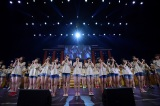 全国ツアー『HKT48夏のホールツアー2016〜HKTがAKB48グループを離脱?国民投票コンサート〜』2日目エンディング(C)AKS