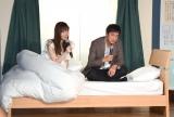 ベッドシーンに挑戦した(左から)指原莉乃、徳井義実 (C)ORICON NewS inc.