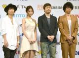 (左から)ハジ→、島袋聖南、品川祐、庄司智春 (C)ORICON NewS inc.