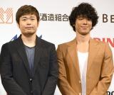 品川庄司(左から)品川祐、庄司智春 (C)ORICON NewS inc.