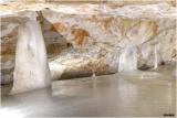 スロバキアの世界遺産の一つ『ドブシンスカの氷の洞窟』