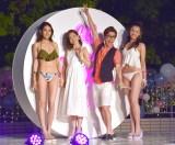 『CanCam×Shinagawa Prince Hotel Night Pool』のオープニングイベントに出席したchay&藤森慎吾 (C)ORICON NewS inc.