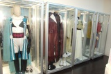 舞台衣装も飾られている=「アニメイト」の初となる女性向け店舗『アニメイトAKIBAガールズステーション』 (C)ORICON NewS inc.
