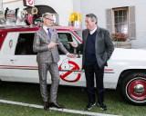 (左から)今回『ゴーストバスターズ』のメガホンをとったポール・フェイグ監督、前作の監督アイヴァン・ライトマン氏