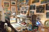 常設展『映画の生まれる場所』 (C)ORICON NewS inc. (C)Museo d'Arte Ghibli