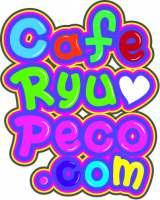 りゅうちぇる&ぺこの監修カフェ『Cafe RyuPeco.com』ロゴ