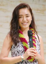 『Hawai'i EXPO 2016』トークショーに出席したモデルの斎藤夏美 (C)ORICON NewS inc.