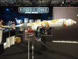 すでに運航中の「BB-8」特別塗装機(模型) (C)ORICON NewS inc.