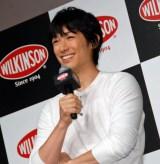 『WILKINSON』新商品&新CM発表会に出席したディーン・フジオカ (C)ORICON NewS inc.
