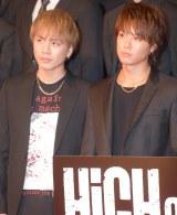 (左から)登坂広臣、TAKAHIRO (C)ORICON NewS inc.